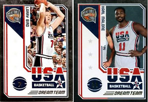 Panini Dream Team Basketball Card Guide 2