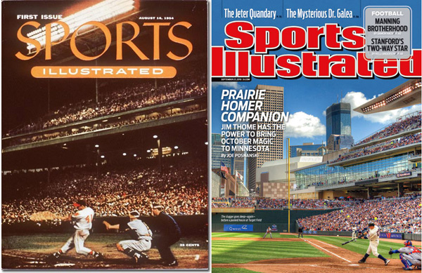 Jim Thome Target Field Cover Captures Essence Of Baseball, Sports Illustrated 1