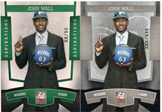 John Wall National Convention Exclusive Cards Offer Collectors a Pair of Hidden Gems 2