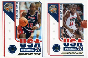 Panini Dream Team Basketball Card Guide 1