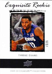 Tyreke Evans Rookie Card Guide 3