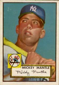 California Collector's Million Card Code Unlocks 1952 Topps Mickey Mantle 1