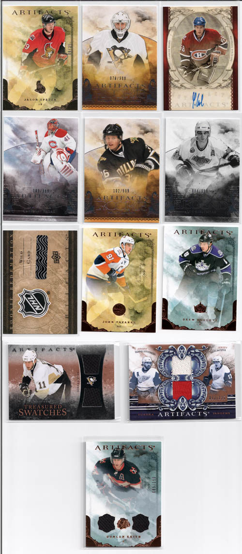 2010-11 Upper Deck Artifacts Hockey Review 1