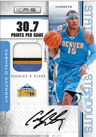 2010-11 Rookies & Stars Basketball 5