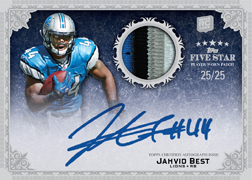 2010 Topps Five Star Football 3
