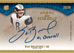 2010 Topps Five Star Football 8