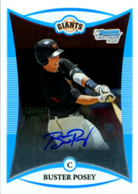 Image result for buster posey rookie card