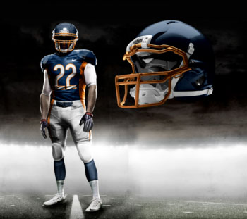 Fictional Nike NFL Uniforms Play-Fake National Media 2
