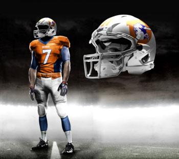 Fictional Nike NFL Uniforms Play-Fake National Media 5