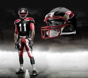 Fictional Nike NFL Uniforms Play-Fake National Media 7