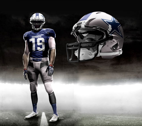 Fictional Nike NFL Uniforms Play-Fake National Media 9