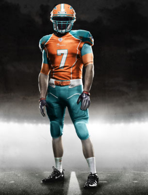 Fictional Nike NFL Uniforms Play-Fake National Media 10
