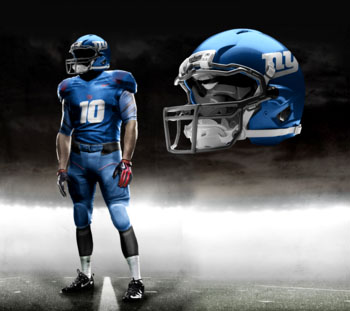 Fictional Nike NFL Uniforms Play-Fake National Media 13