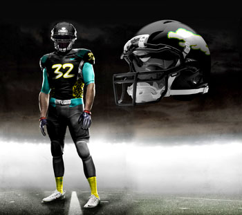 Fictional Nike NFL Uniforms Play-Fake National Media 14