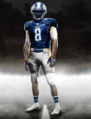 Fictional Nike NFL Uniforms Play-Fake National Media 20