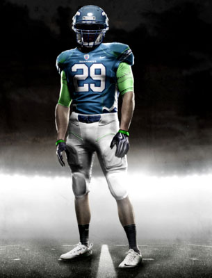 Fictional Nike NFL Uniforms Play-Fake National Media 24