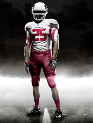Fictional Nike NFL Uniforms Play-Fake National Media 26