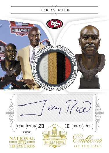 2010 National Treasures Football 15
