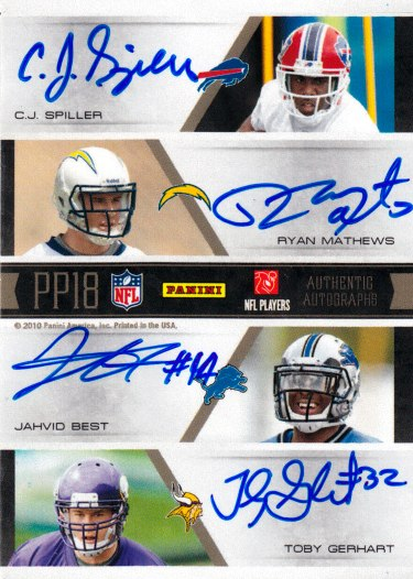 2010 National Treasures Football 7