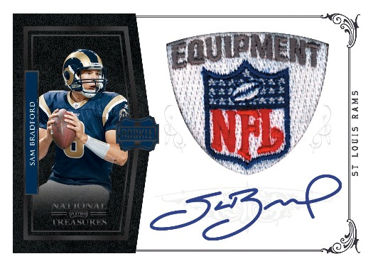 2010 National Treasures Football 4