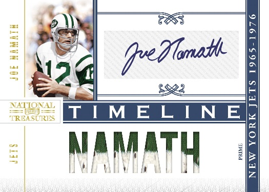 2010 National Treasures Football 1