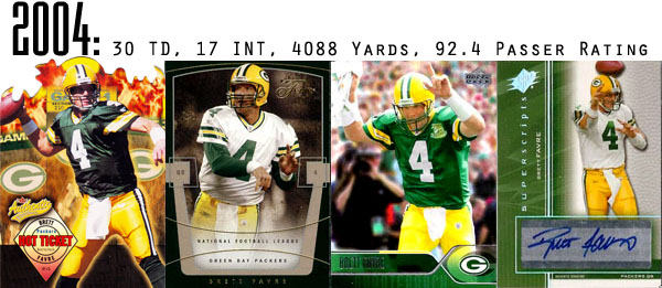 The Epic Story of Brett Favre's Streak Told Through Football Cards 14