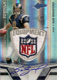 Big Time Hits: 2010 Football Card Patches, Autos, Rookies and Legends  1