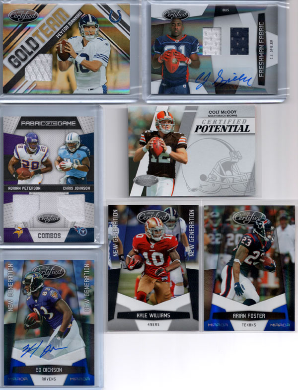 2010 Panini Certified Football Review 9