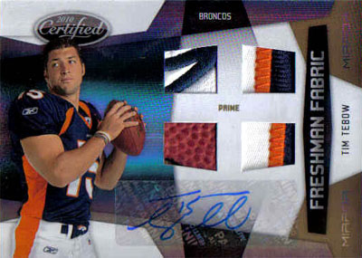 Big Time Hits: 2010 Football Card Patches, Autos, Rookies and Legends  17