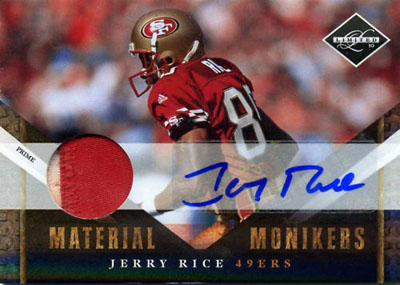 Big Time Hits: 2010 Football Card Patches, Autos, Rookies and Legends  21
