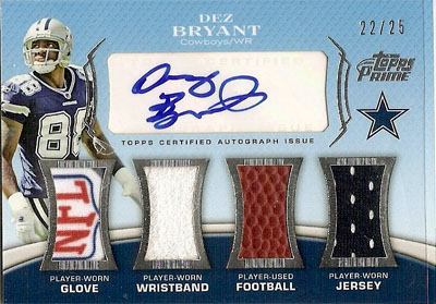 Big Time Hits: 2010 Football Card Patches, Autos, Rookies and Legends  9
