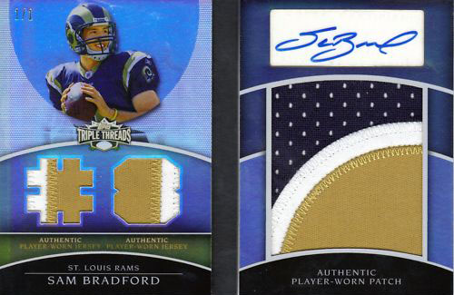 Big Time Hits: 2010 Football Card Patches, Autos, Rookies and Legends  2