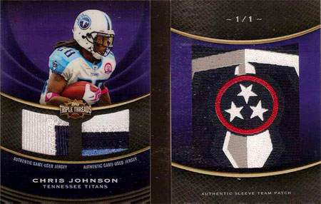 Big Time Hits: 2010 Football Card Patches, Autos, Rookies and Legends  7