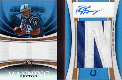 Big Time Hits: 2010 Football Card Patches, Autos, Rookies and Legends  3