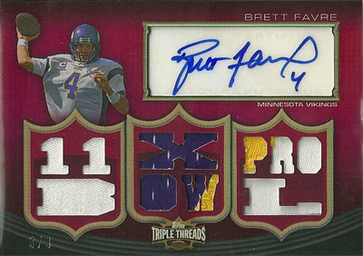 Big Time Hits: 2010 Football Card Patches, Autos, Rookies and Legends  8