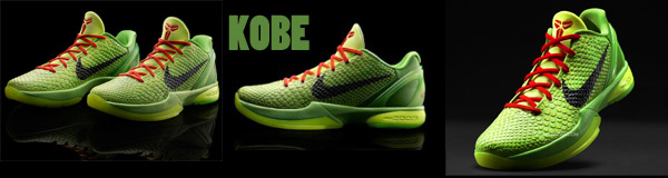 Nike Releases Kobe, LeBron and Durant's Christmas Day Shoes 8