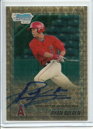 2010 Topps and Bowman Superfractor Super Show 13