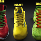Nike Releases Kobe, LeBron and Durant's Christmas Day Shoes