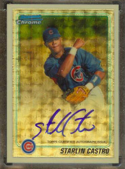 2010 Topps and Bowman Superfractor Super Show 19