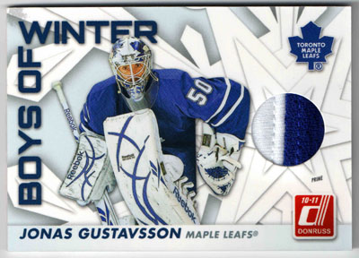 2010-11 Donruss Hockey Review 1