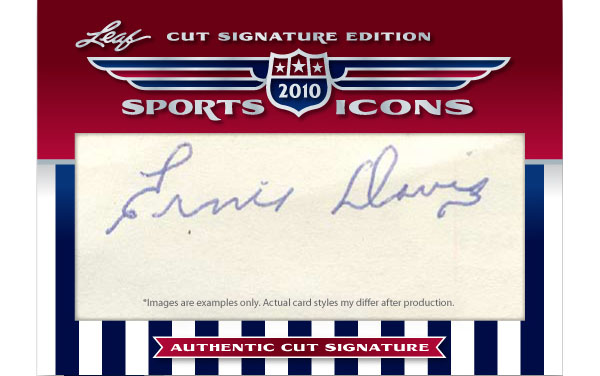 2010 Leaf Cut Signature Sports Icons Update: The Search For Shoeless Joe 4