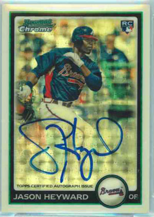 2010 Topps and Bowman Superfractor Super Show 35