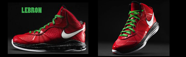 Nike Releases Kobe, LeBron and Durant's Christmas Day Shoes 6