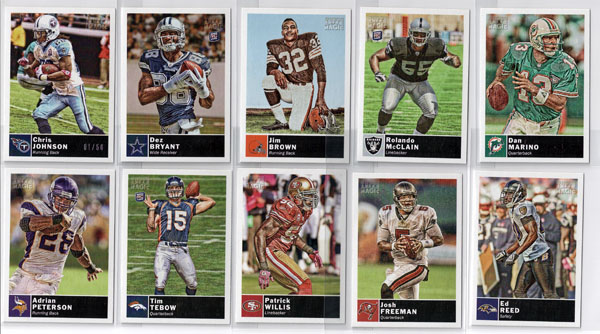 2010 Topps Magic Football Review 2