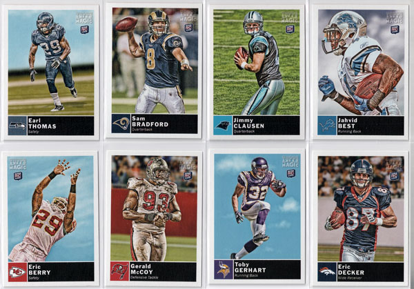 2010 Topps Magic Football Review 4