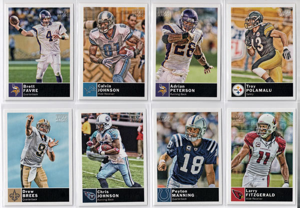 2010 Topps Magic Football Review 5