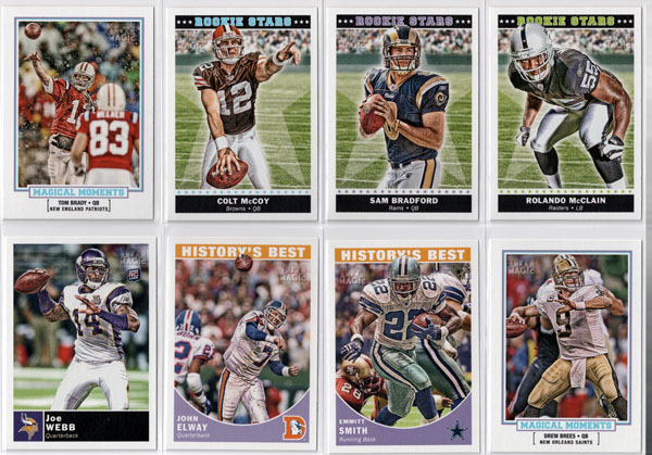2010 Topps Magic Football Review 3