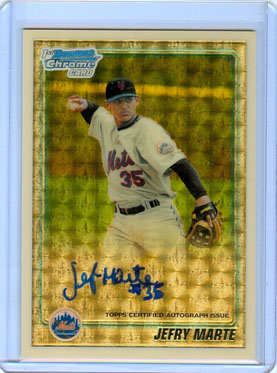 2010 Topps and Bowman Superfractor Super Show 51