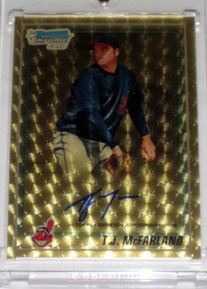 2010 Topps and Bowman Superfractor Super Show 55