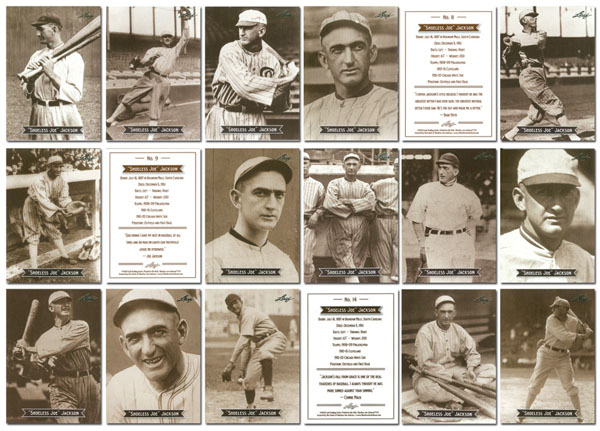 2010 Leaf Cut Signature Sports Icons Update: The Search For Shoeless Joe 5